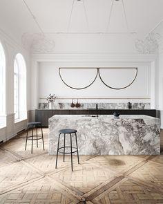 AlexAllen Lighting + Furniture | Classical Apartment on Behance