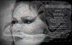 "Konzert: Zeena Schreck - ""A Typhonian Tantric Ritual Soundscape"" @WGT & Ägyptisches Museum, Leipzig Sonnabend, 23. Mai 2015 http://www.wave-gotik-treffen.de/prog/museen.php"