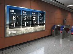 「digital signage wall」の画像検索結果