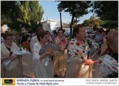 OFRENDA FLORAL AL STMO.CRISTO DEL PRADO : FERIAS Y FIESTAS DE MADRIDEJOS 2012