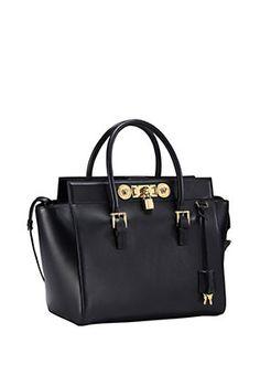 bd14d4ec33 Versace - Large Signature Lock Handbag Versace Shoes