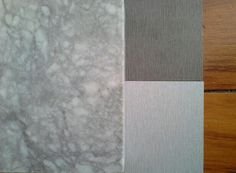 My picks for the kitchen reno. Quarter Doeskin on walls, rimu flooring & Northside benchtop to remain. Super white granite and stainless sink for utility bench. Melteca Zincworks (pale silver/grey streaked grey) for upper cupboards which will go to the ceiling, plus floor to ceiling pantry and lower cupboards on North side of kitchen for light and feeling of space.  Melteca Brushed Nickel (darker streaked grey) for kitchen island/lower cupboards on South side. And brushed stainless large…