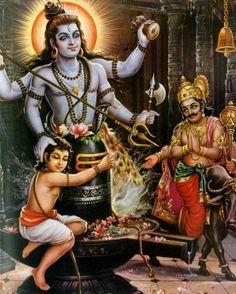 Shiva protect his devotee from Yama the hell God Shiva Linga, Shiva Shakti, Shiva Art, Hindu Art, Ganesha Art, Lord Shiva Names, Lord Shiva Hd Images, Krishna Images, Lord Shiva Painting