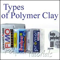 Polymer clay brands, free review by Polymer Tutorials - very good info, especially for beginners.
