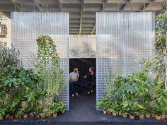 Un bosque urbano en el London Design Festival