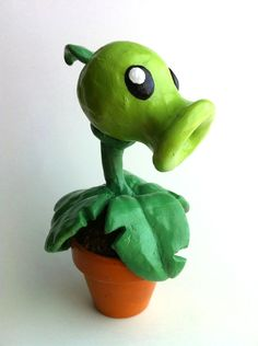 The ever-popular pea shooter from Plants vs Zombies. Description from…