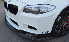 Agency Power Carbon Fiber Front Lip Spoiler BMW M5 F10