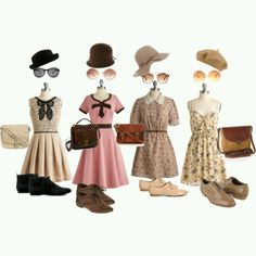 Love vintage outfits