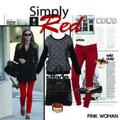 Pink Woman - Go Red.