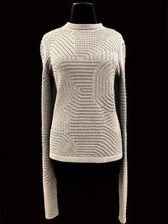 Designer: Sidney Renkewitz: knitGrandeur: FIT & Baruffa 2/30s Cashwool Collaboration 2016: Term Garment Project
