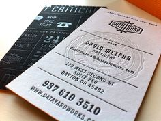 Seal on Business Cards by Jeremy Loyd