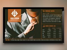 Corporate for Digital Signage