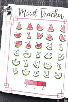 21 Best June Mood Tracker Ideas For Bujo Addicts Looking for ideas to try next in your bullet journal! Check out these adorable June mood trackers for inspiration! The post 21 Best June Mood Tracker Ideas For Bujo Addicts appeared first on School Ideas. Bullet Journal Tracker, Bullet Journal School, Bullet Journal Mood Tracker Ideas, Bullet Journal Cover Page, Bullet Journal Notebook, Bullet Journal Spread, Bullet Journal Ideas Pages, Bullet Journal Inspiration, Bullet Journal Lined Paper