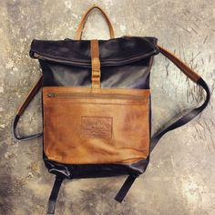 SERGEANT PEPPER || FULL LEATHER BACK PACK