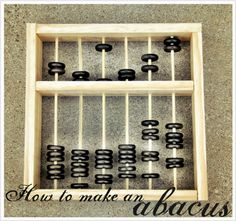 I'd love to incorporate the use of the abacus in my classroom. I learned to use one in elementary school!