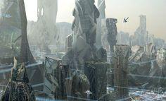Cloud Atlas Neo Soul concept art