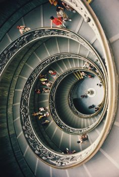 Spiral Stairs | Vatican Museum                                                                                                                                                                                 More