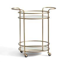 Tristan Bar Cart | Pottery Barn
