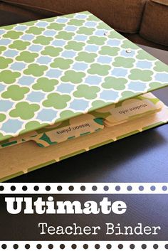 ED: Ultimate teacher binder #teacher #binder #classroom #education
