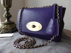 6e28a196fc Mulberry Lily Limited Edition John Lewis 150th Anniversary in Purple Glossy  Goat Leather  gt  http