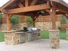 backyard bbq ideas - Bing Images #outdoorkitchen #outdoor #kitchen #ideas