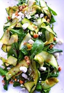 Salade met courgette en feta   HelloFresh Blog