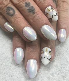 "Unicorn nails! Lori Lane Sartain (@nailsbylorilane) on Instagram: "" #nails #nailsbylorilane #solasugarhouse #slcnails #nailporn"""