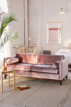 Shop Piper Petite Velvet Sofa at Urban Outfitters today. We carry all the latest styles, colors and brands for you to choose from right here.