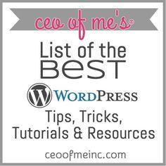 List of the Best WordPress Tips, Tricks, Tutorials & Resources (scheduled via http://www.tailwindapp.com?utm_source=pinterest&utm_medium=twpin&utm_content=post801971&utm_campaign=scheduler_attribution)