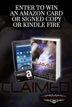 Win a Kindle Fire Tablet, $25 Amazon Gift Card or Signed Copies from NY Times, USA Today Bestselling Author Evangeline Anderson