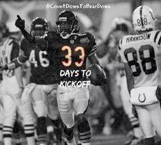 33 DAYS TO KICKOFF