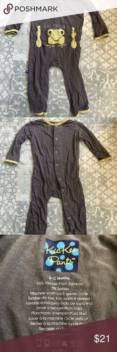 NWT KICKEE Pants 6-12 month Bamboo Hooded Tank Top /& Shorts Set Sea Glass Turtle