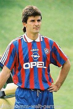 Emil Kostadinov Bayern München 1995-96 seltenes Foto