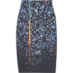 Preen by Thornton Bregazzi Joslyn floral-print cotton-blend pencil skirt