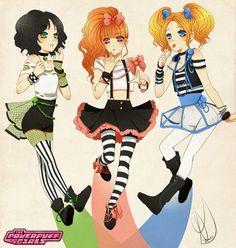Steampunk girls.