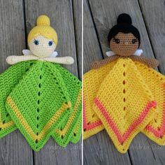 Fairy Loveys #crochet #instacrochet #handmade #amigurumi #lovey…