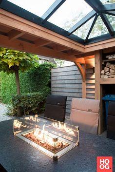 Garden room with veranda - gardenroom Patio House Ideas, Outdoor Rooms, Garden Buildings, Enclosed Patio, Deck Design, Garden Room, Outdoor Design, Back Gardens, Home And Garden