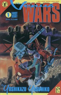 Cover for The Venus Wars (Dark Horse, 1991 series) #1