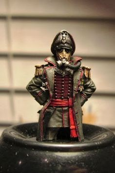 Whitlow's Miniatures: Death Korps of Krieg Lord Commissar