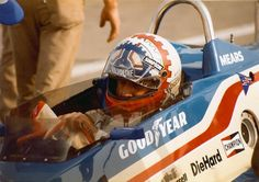 1983 Indianapolis 500 | ROGER MEARS 1983 INDIANAPOLIS 500 - One of the best helmet designs in the business.