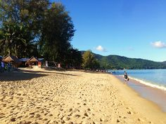 Strandabschnitt in Batu Ferringhi