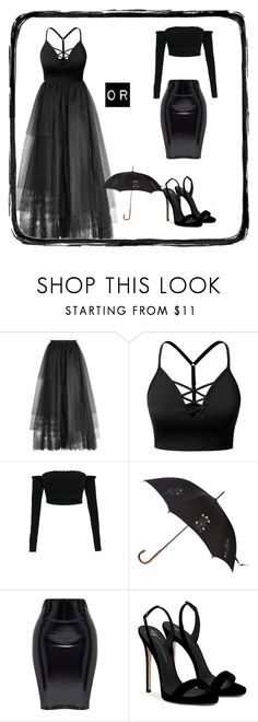 """""""it's beautiful or not👣"""" by itsemiii ❤ liked on Polyvore featuring Elie Saab, J.TOMSON, Alexander McQueen and Giuseppe Zanotti"""