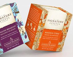 """Check out this @Behance project: """"Signature Estates tea growers"""" https://www.behance.net/gallery/27638363/Signature-Estates-tea-growers"""