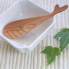 くじらスプーン 木製スプーン  [メール便対応!][木のカテラリー]【楽天市場】