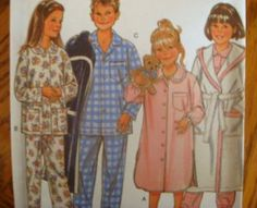NEW LOOK Sewing Pattern 6585 - S-M-L PAJAMAS-GOWNS-ROBES