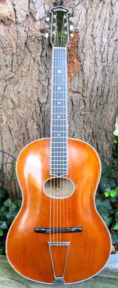 1932 Clifford Essex Paragon #LardysWishlists #Guitar ~ https://www.pinterest.com/lardyfatboy/ ~
