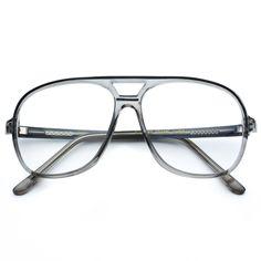 837854d2c1b Maurey Transparent Rectangular Clear Lens Plastic Retro Hipster Glasses  Hipster Glasses