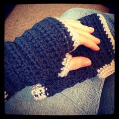 Crochet Hand warmers!!