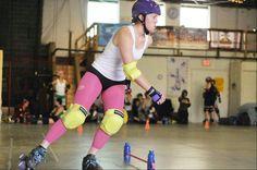 Endurance drills for roller derby