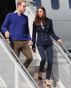 Touch down: The Duke and Duchess of Cambridge arrived at Whenuapai Royal New Zealand Air Force base just outside of Auckland on Friday April 11, 2014.